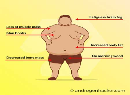 what are some other common signs and symptoms of low testosterone levels?